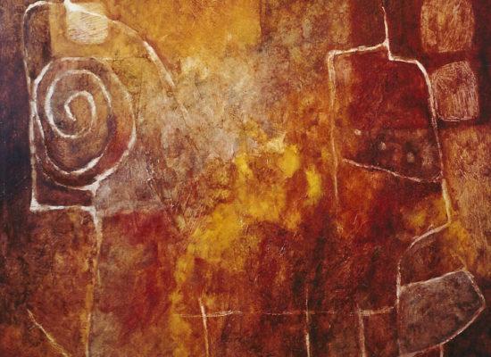 4. La barca - 1993 - Oil on canvas - 130 x 100 / 51 x 39 1/4 in - Private Collection Santiago, Chile