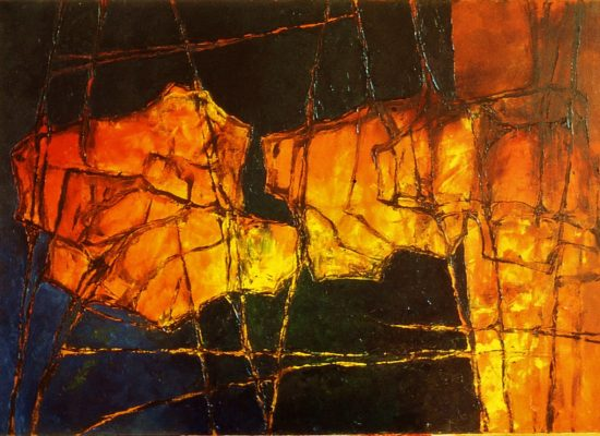 7. The departure - 1996 - Oil on canvas - 120 x 160 cm / 47 1/4 x 63 in - Private Collection Madrid