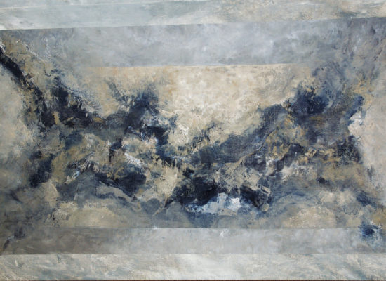 1. Black wings - 2004 - Oil on canvas - 97 x 162 cm / 38 x 63 3/4 in - Private Collection Castelldefels, Catalonia