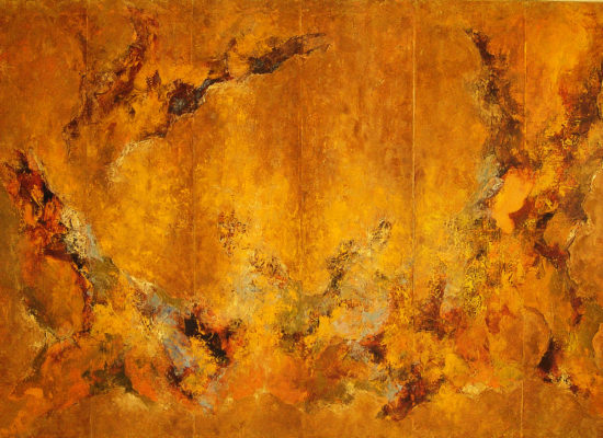 3. Fall bridge - 2005 -Oil on canvas - 130 x 195 cm / 51 x 76 3/4 in - Private Collection Castelldefels, Catalonia
