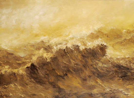 4. Winter Tide 1 – 2018 – Oil on canvas - 73 x 116 cm cm / 28 ¾ x 45 ½ in - Private Collection Leuven
