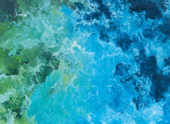 5. Ocean - 2012 - Oil on canvas - 81 x 100 cm / 31 3/4 x 39 in - Private Collection Brussels
