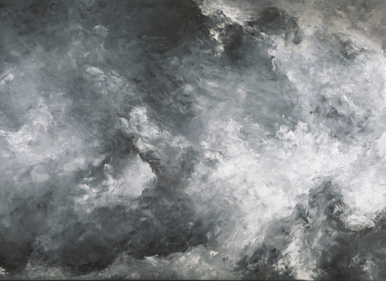 6. Landscape Variation 10 - 2021 - Oil on canvas - 89 x 146 cm / 35 x 57 ½ in