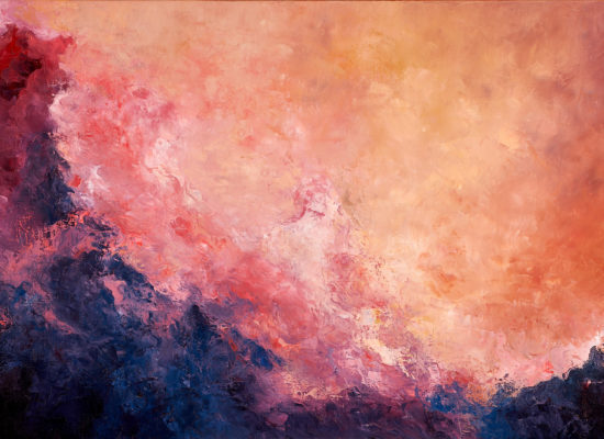 3. Landscape Variation 7 - 2021 - Oil on canvas - 73 x 116 cm / 28 ¾ x 45 ½ in