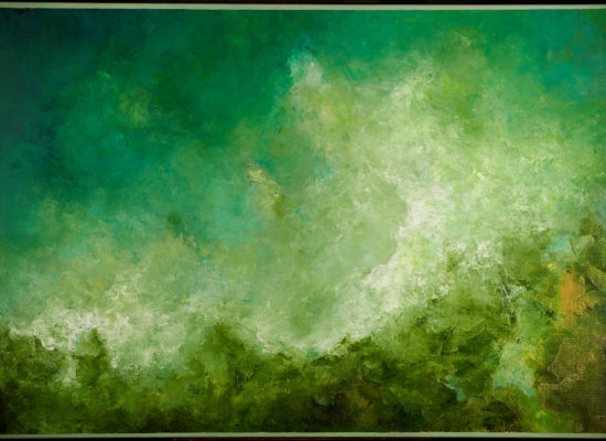 5. Landscape Variation 9 - 2021 - Oil on canvas - 89 x 130 cm / 35 x 45 ½ in
